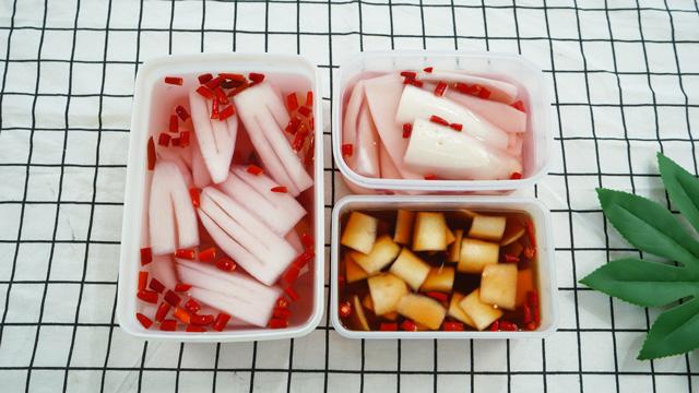 酱萝卜皮&酸甜萝卜肉